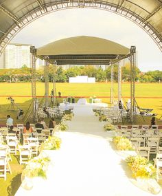 Celebrity Wedding: Paolo Valenciano and Sam Godinez Part 2 Manila Philippines, Polo Club, Celebrity Weddings, Table Decorations, Country, Celebrities, Rural Area, Celebs, Country Music