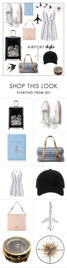 """""""Fly High"""" by makana121 ❤ liked on Polyvore featuring Ted Baker, Mark Cross, Swell, WithChic, rag & bone, Dooney & Bourke, Thomas Sabo and Jayson Home"""
