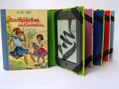 Lieblingskinderbuch wird zur Kindle-Hülle: Tolino shine, Sony PRS  von Angreth  auf DaWanda.com