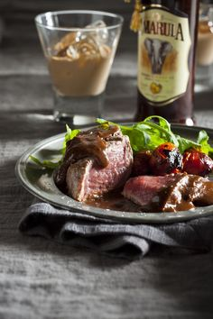Seared beef fillet with chocolate chilli and Amarula sauce - South African Magazine - SA PROMO South African Dishes, South African Recipes, Steak Recipes, Cooking Recipes, Beef Fillet, Savoury Dishes, Food For Thought, Love Food, Easy