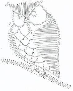 "Photo from album ""Вологодское +++"" on Yandex. String Art, Owl Embroidery, Bobbin Lacemaking, Bobbin Lace Patterns, Lace Jewelry, Tatting Lace, Needle Lace, Lace Making, Lana"