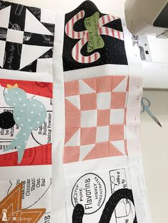 Snow-A-Long, Wk 5 B   Great Joy Studio #snowsweet #sweetsnowalong #greatjoystudio #rileyblakedesigns #jweckerfrisch #sewalong #sewing #quilting #christmas #christmasfabric Row By Row, Riley Blake, Technical Drawing, Easy Quilts, Studio, To My Daughter, My Design, My Photos, Applique