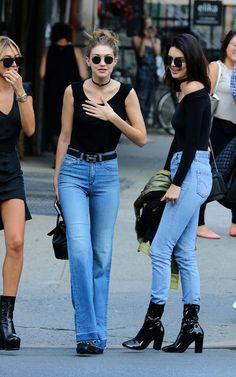 Gigi Hadid Twins With Kendall