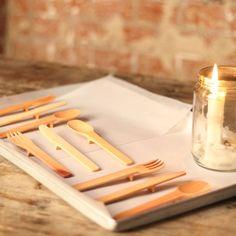 MANIFESTO Design Lab - Innovative Wooden Cutlery by MANIFESTO Design Lab | MONOQI