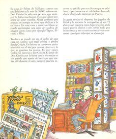 Pequeña historia de Camilo José Cela de Monique Alonso, Pilarín Bayés. Publicado por Mediterrània, 1989.