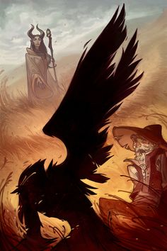 The Curse Of Maleficent (Interiors) by Nicholas Kole, via Behance