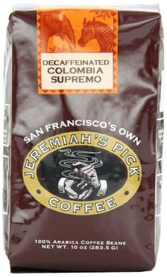 ** Startling review available here : Jeremiah's Pick Coffee Colombia Supremo Decaf Whole Bean Coffee, 10-Ounce Bags -Pack of 3 at Coffee Beans.