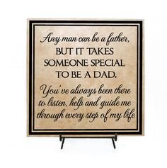Anyone can be a father, but it takes someone special to be a DAD- Father's day gift, Grandpa Father's Day, Step Dad, Step Father's Day Gift