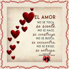 SUEÑOS DE AMOR Y MAGIA: El amor no se toca,se siente