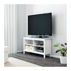 BRUSALI Tv-bänk - vit - IKEA