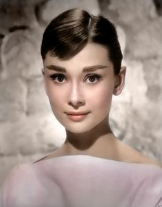 Audrey Hepburn looking absolutely gorgeous. Did you know she was fluent in English, Dutch, Italian, French, and Spanish? And that during WWI...