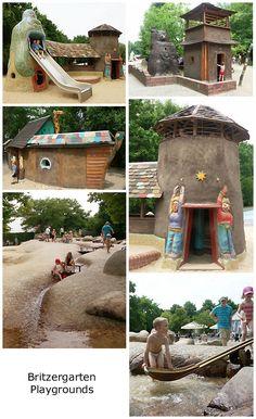 Britzergarten clay & water playgrounds