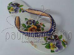 Sandália Havaianas TOP decorada #sandaliasdecoradas #paulacarvalhosandaliasdecoradas