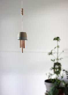 DIY Ceramic & Copper Chime @themerrythought for @poppytalk