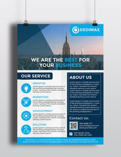 Corporate Business Flyer/ Freebie on Behance Corporate Design, Corporate Flyer, Business Design, Corporate Business, Brochure Layout, Brochure Design, Flyer Layout, Creative Flyers, Creative Design