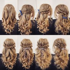 14 Different New Braid Hair Styles, 14 verschiedene neue Zopffrisuren, This image has. Easy Hairstyles For Long Hair, Pretty Hairstyles, Braided Hairstyles, Wedding Hairstyles, Crazy Hairstyles, Fashion Hairstyles, Communion Hairstyles, Fall Hairstyles, Blonde Hairstyles