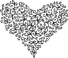 Vector of 'Romantic floral refined vignette 133 Eau-forte black-and-white swirl decorative background texture vector illustration'