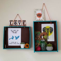 How to transform old drawers into hanging shelves. Old Drawers, Interior Shop, Friends Are Like, Hanging Shelves, Shop Interiors, Frame, Creative, Home Decor, Style
