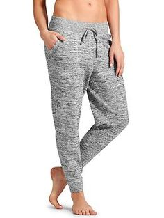 Techie Sweat Ankle Pant - Super-soft Techie Sweat fabric in a tapered ankle pant that can be worn long or pushed up to a slouch.