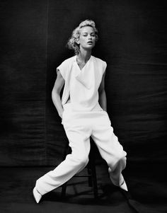 Carolyn Murphy in Vogue Korea | Androgyny