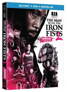 Blu-ray press release for The Man with the Iron Fists 2 Unrated, starring RZA.
