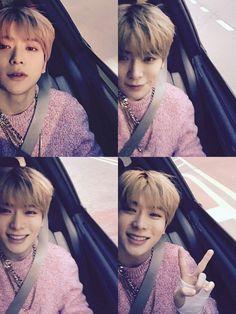 NCT Jaehyun Jaehyun invented car selfie