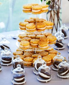 A Classic Maine Wedding (Plus Marriage Advice From Kindergarteners! Dessert Bars, Dessert Table, Tiny Food Party, Sandwich Bar, Wedding Cakes With Cupcakes, Icecream Bar, Wedding Desserts, Let Them Eat Cake, Love Food