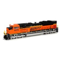 HO SD70ACe w/High Headlight, BNSF/Wedge #9376 (ATHG68551): Athearn Trains