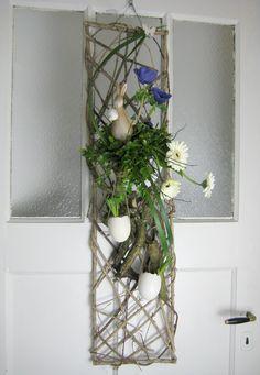 bloemstuk pasen voorjaar deurhanger