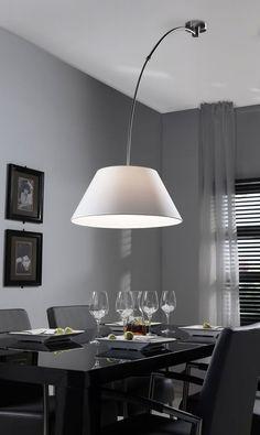 Hanglamp verstelbaar wit