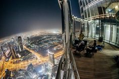 View From Burj Khalifa At Night By Dreamcore