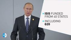 ISIS is making $50,000,000 a month, and Putin is exposing the countries giving it to them.    Antalya, Turkey– Russian President Vladimir Putin has announced that he has shared intelligence with the other G20 member states, which