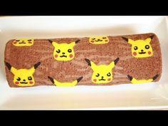 PIKACHU CHOCOLATE ROLL CAKE - NERDY NUMMIES