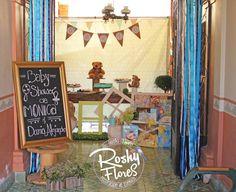 #BabyShower #party #decorations #roshyflores.eventos