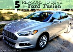 5 Reasons To Love The #Ford #Fusion