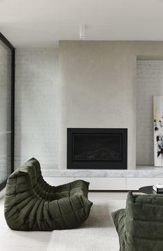 Interior Decorating, Interior Design, Fireplace Design, Apartment Interior, Soft Furnishings, Decoration, Interior Architecture, Form Architecture, Home And Living