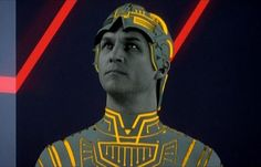The original CLU from TRON before he turned evil. Here he fought for Flynn. He fought for the users!