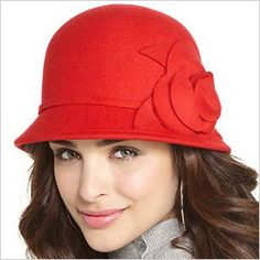 just was gifted with a hat like this one in black by my sweet mother in law. i love it! so much that i bought my little girl one too in red!