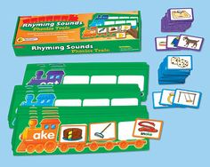 Rhyming Sounds Phonics Train at Lakeshore Learning