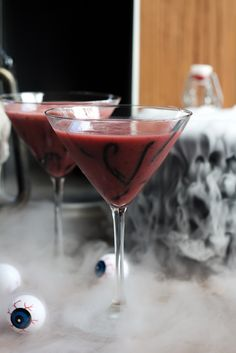 Old Fashioned Ghoultini - Hip Foodie Mom