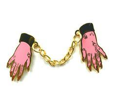 BOUND Double Lapel Pin by PenelopeGazin on Etsy