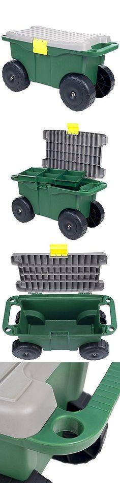 Garden Kneelers Pads And Seats 75669: Pure Garden Carts Garden 75 Mj2011 20  Plastic