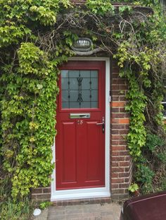 We take the hassle out of home improvements with our supply and installation service. Get your dream door from SWR! Composite Front Doors Uk, Entrance Doors, Garage Doors, House Front Door, New Homes, Outdoor Decor, Entry Doors, Gates Driveway, Entry Gates