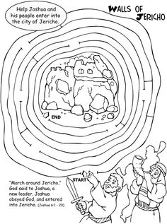 joshua chapter 10 coloring pages | 1000+ images about Children's Ministry on Pinterest ...