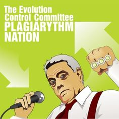"""Evolution Control Committee - I first learned about the ECC when they received a nasty cease-and-desist letter from lawyers for CBS because ECC had created and released, """"Rocked by Rape,"""" an extremely funny parody of national evening news in the U.S. and how it had become annoyingly sensationalist.  They composed this work by taking dozens (maybe hundreds) of short phrases spoken by CBS Evening News anchor and icon, Dan Rather, and strung them together, accompanied by the famous AC/DC """"Back…"""