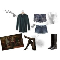 """Allison Argent 3x06"" on Polyvore. I tried to match her outfit as best i could. I love the way her character dresses on Teen Wolf!!"