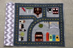 Van's car play mat