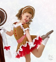 Curtain Call Costumes® - Gingerbread Lane E4383 Stock is not guaranteed, please contact customer service to order 888-808-0801.