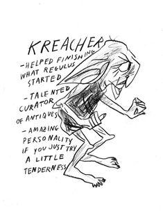 Underappreciated Harry Potter characters: Kreacher