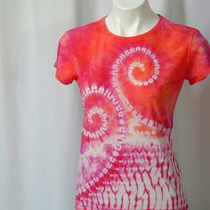 Love's Wild Storm Shibori Tee in Fuchsia and Bright Orange | Flickr - Photo Sharing!